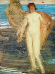 venus with organist by james abbott mcneill whistler painting
