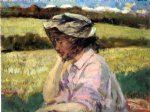 james carroll beckwith art - lost in thought by james carroll beckwith