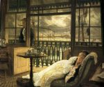 james jacques joseph tissot watercolor paintings - a passing storm by james jacques joseph tissot