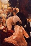james jacques joseph tissot watercolor paintings - a woman of ambition by james jacques joseph tissot