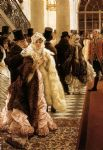 james jacques joseph tissot watercolor paintings - the woman of fashion by james jacques joseph tissot