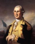 james peale acrylic paintings - george washington by james peale