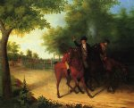 james peale the ambush of captain allan mclane painting