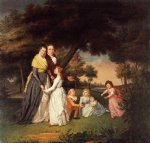 james peale the artist and his family painting
