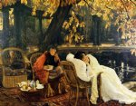 a convalescent by james tissot painting