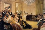 james tissot acrylic paintings - hush by james tissot