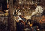 jesus original paintings - jesus at bethany by james tissot