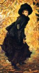 october by james tissot paintings