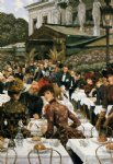 james tissot acrylic paintings - the artist s ladies by james tissot