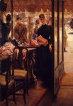 girl acrylic paintings - the shop girl by james tissot