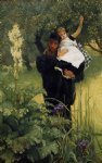 the widower by james tissot paintings