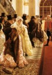 james tissot acrylic paintings - the woman of fashing by james tissot