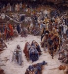 james tissot acrylic paintings - what our savior saw from the cross by james tissot