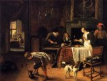 easy come easy go by jan steen painting