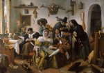 in luxury beware by jan steen oil paintings