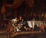 samson and delilah by jan steen painting