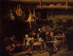 the fat kitchen by jan steen oil paintings