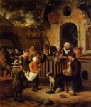 the little alms collector by jan steen oil paintings