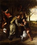 jan steen artwork - the return of the prodigal son by jan steen