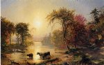 autumn in america by jasper francis cropsey painting