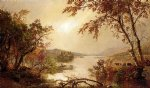 greenwood lake by jasper francis cropsey art