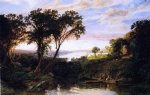 jasper francis cropsey hudson river view summer painting
