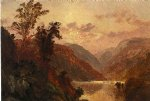 in the highlands of the hudson by jasper francis cropsey art