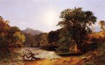 in the white mountains by jasper francis cropsey art
