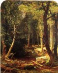 jasper francis cropsey pool in the woods art