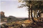 sports famous paintings - sportsmen nooning by jasper francis cropsey