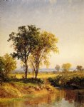 jasper francis cropsey the pond in springtime posters