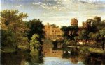 jasper francis cropsey warwick castle england painting 31410