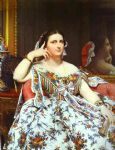 jean auguste dominique ingres mme moitessier paintings