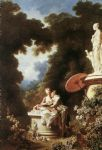 jean fragonard famous paintings - the confession of love by jean fragonard