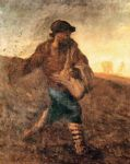 jean francois millet watercolor paintings - the sower by jean francois millet