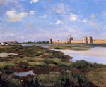 jean frederic bazille original paintings - aigues by jean frederic bazille
