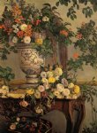 jean frederic bazille original paintings - flowers by jean frederic bazille