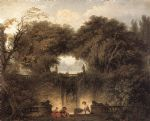 jean honore fragonard le petit parc by jean-honore fragonard painting
