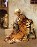 jean leon gerome pelt merchant of cairo by jean-leon gerome painting