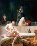 jean leon gerome the harem bathing prints