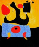 femme assise by joan miro oil paintings
