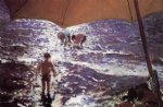 beach original paintings - midday on valencia beach by joaquin sorolla y bastida