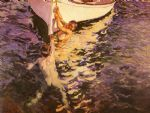 joaquin sorolla y bastida the white boat painting 84362