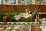 butterfly acrylic paintings - the butterfly by john atkinson grimshaw