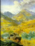 the val d aosta by john brett painting