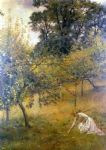 john collier famous paintings - a devonshire orchard by john collier