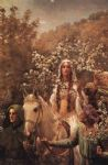 john collier famous paintings - guinevere s maying by john collier