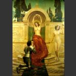 john collier famous paintings - in the venusberg tannhauser by john collier