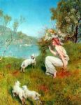 spring by john collier art