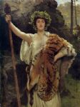 john collier the priestess of bacchus paintings